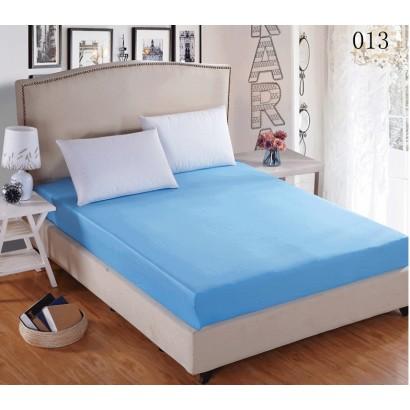 Cearceaf elastic 100x200 Versoft Albastru
