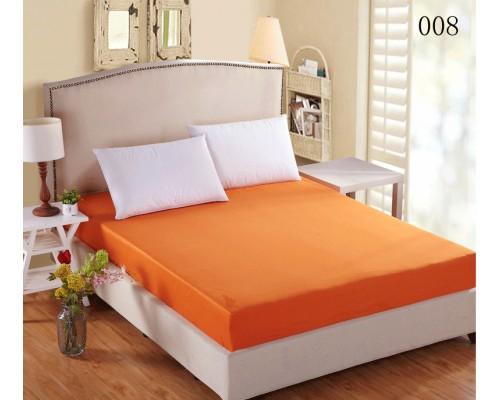 Cearceaf elastic 100x200 Versoft Orange