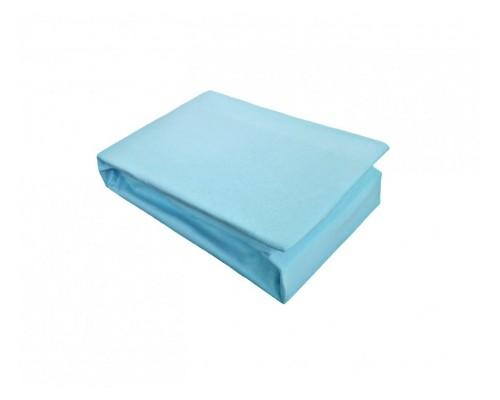 Cearceaf cu elastic Jersey 180x200 Albastru