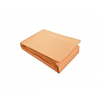 Cearceaf cu elastic Jersey 180x200 Orange