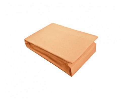 Cearceaf cu elastic Jersey 160x200 Orange