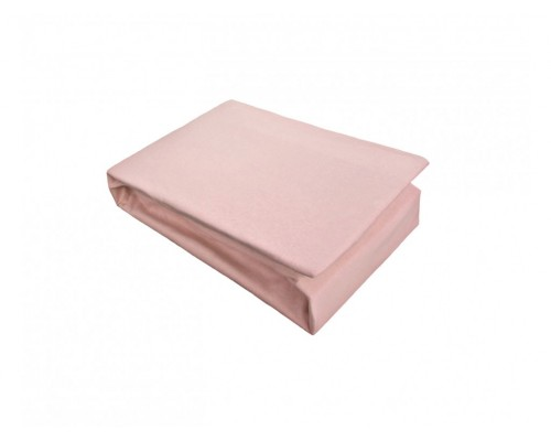 Cearceaf cu elastic Jersey 160x200 Roz