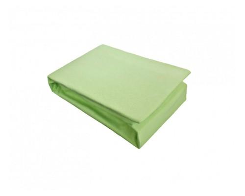 Cearceaf cu elastic Jersey 180x200 Verde