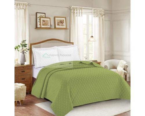 2 x Cuvertura de pat Dublu Verde