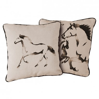 Set 2 Fete Perna Decorative din Catifea Free Spirit 45 x 45 cm