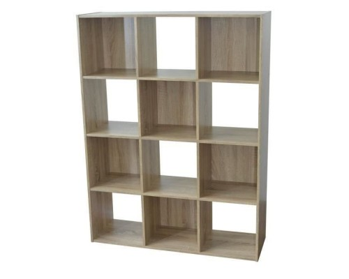COMPO Contemporary oak storage cabinet - W 92 cm