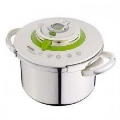 SEB Nutricook pressure cooker - P4221403 - 8L - All heat sources including induction - Stainless steel - White