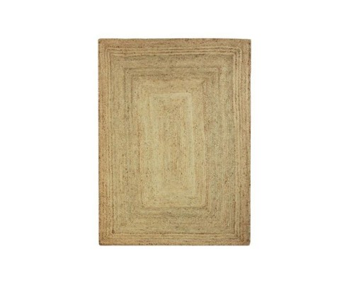 Covor iuta impletita FULL living sau dormitor 120 x 170 cm - Natural