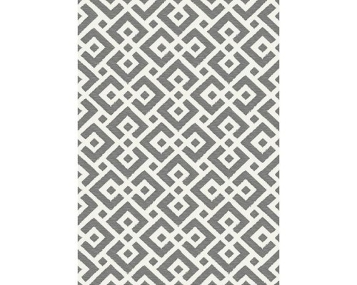 Covor Living/Dormitor SLOANE Indoor / outdoor - 120x170 cm - Gray & white