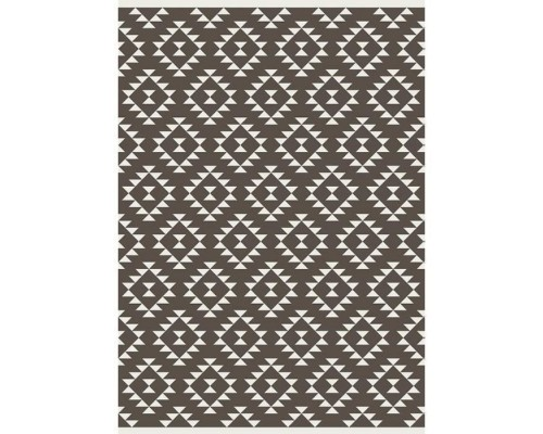 Covor Living/Dormitor RALPH Indoor / outdoor - 120x170 cm - Brown and cream