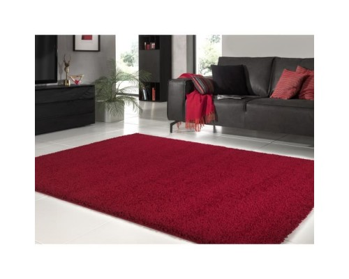 Covor Living Model TRENDY Shaggy 120 x 160 cm - Rosu