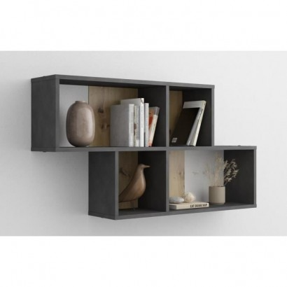 FMD Nora Large Bibliotheque - Black