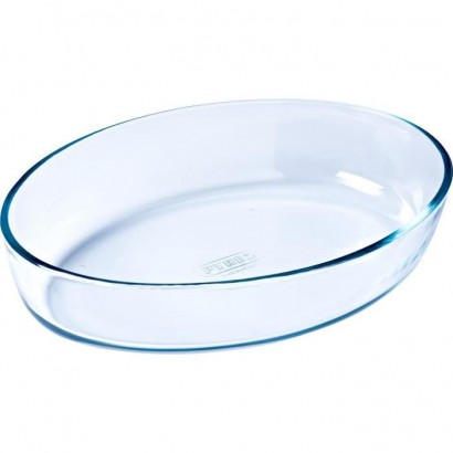PYREX - ESSENTIALS - Oval glass oven dish 35 * 24 cm
