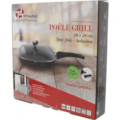 Tigaie Grill PRADEL EXCELLENCE 28 x 28 cm