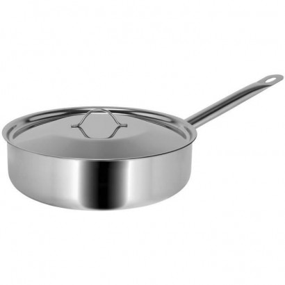SITRAM PROFESSIONAL Sauté pan - 710321 - 3L stainless steel with lid - All heat sources including induction