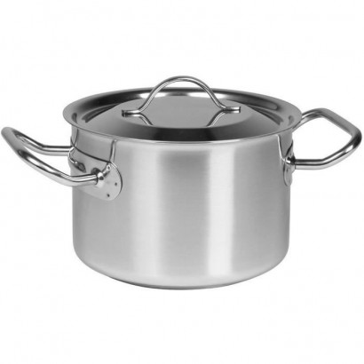 SITRAM PROFESSIONAL half caterer - 710917 - 2.1L stainless steel with lid - All heat sources including induction