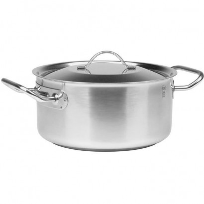 SITRAM Braisiere PROFESSIONNELLE - 712927 - 2.8L stainless steel with lid - All heat sources including induction