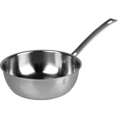 SITRAM Sauté pan HORECA R - 712037 - ?24cm stainless steel - All heat sources including induction
